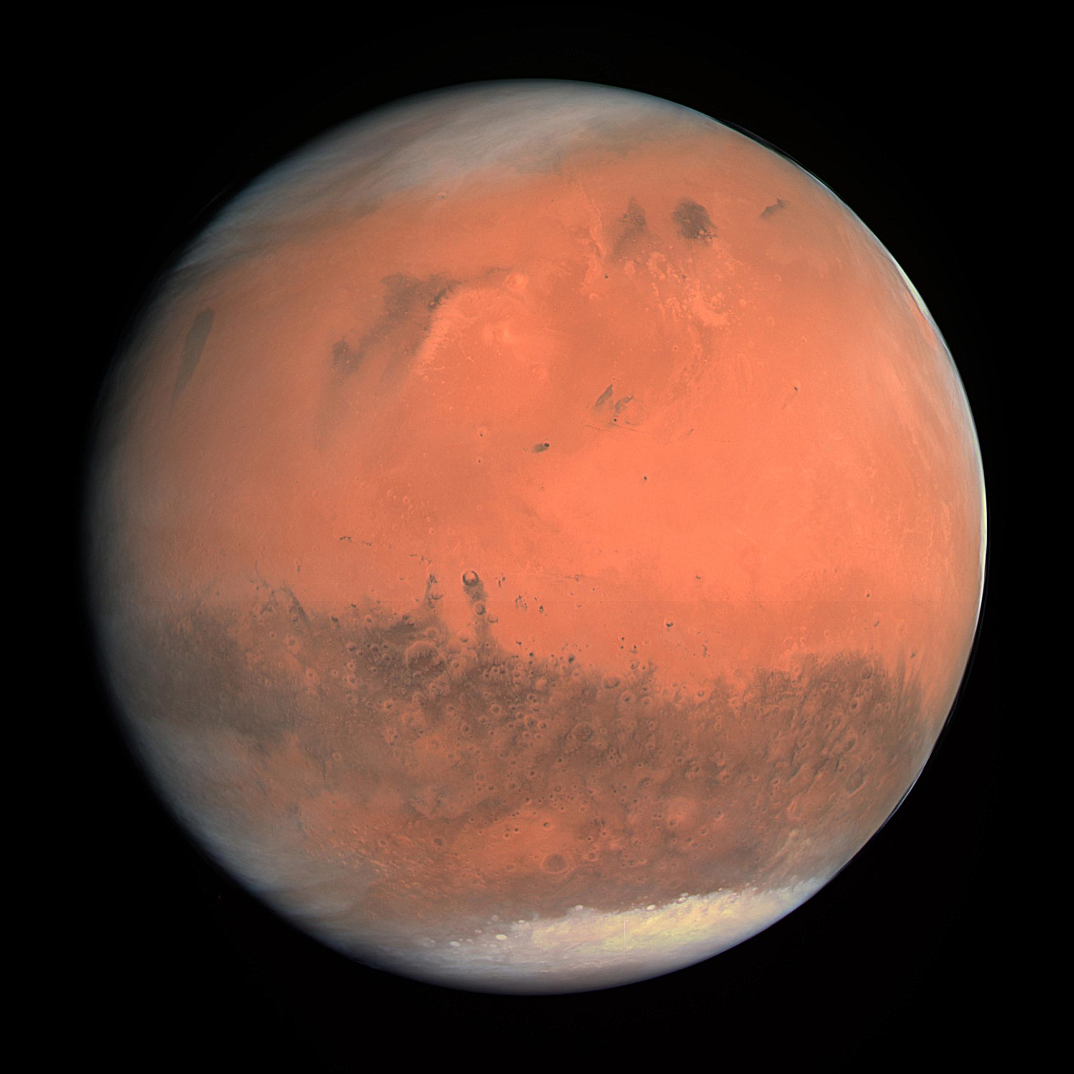 LA PLANÈTE ROUGE - LA PLANÈTE MARS - cnes
