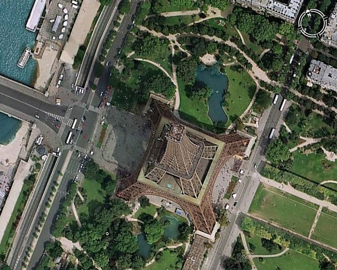Cnes d couvrir des territoires inexplor s gr ce au satellite - Google vue des maisons ...