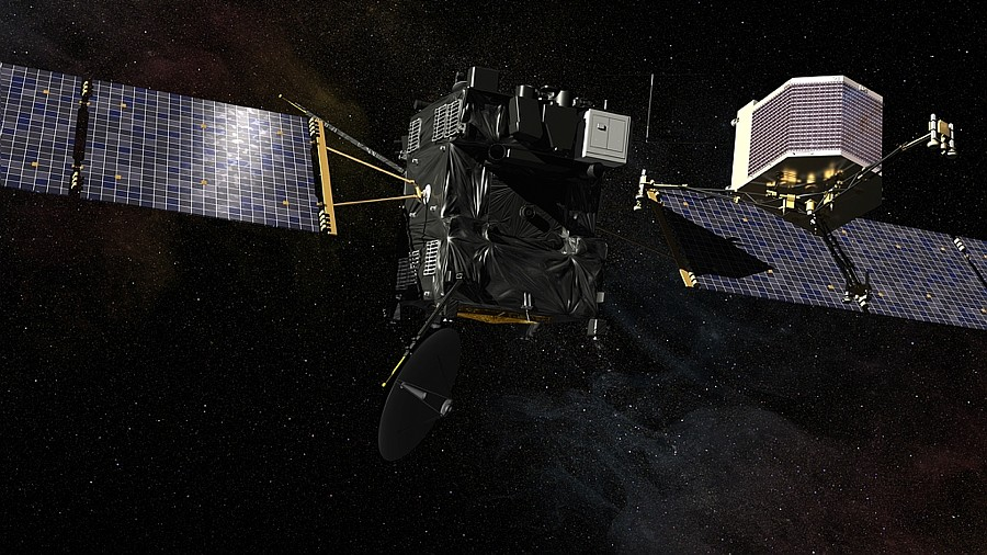 touchdown! rosettas philae probe lands on comet - 900×506