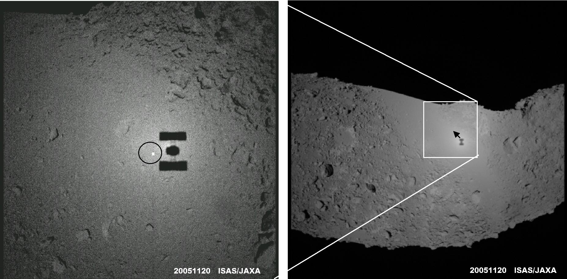 itokawa asteroid surface - photo #3