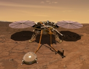 Insight à la surface de Mars