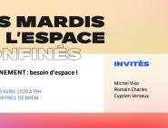 Affiche Mardi de l'Espace - confinement avril 2020