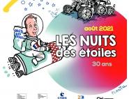 Affiche des Nuits des Etoiles 2021
