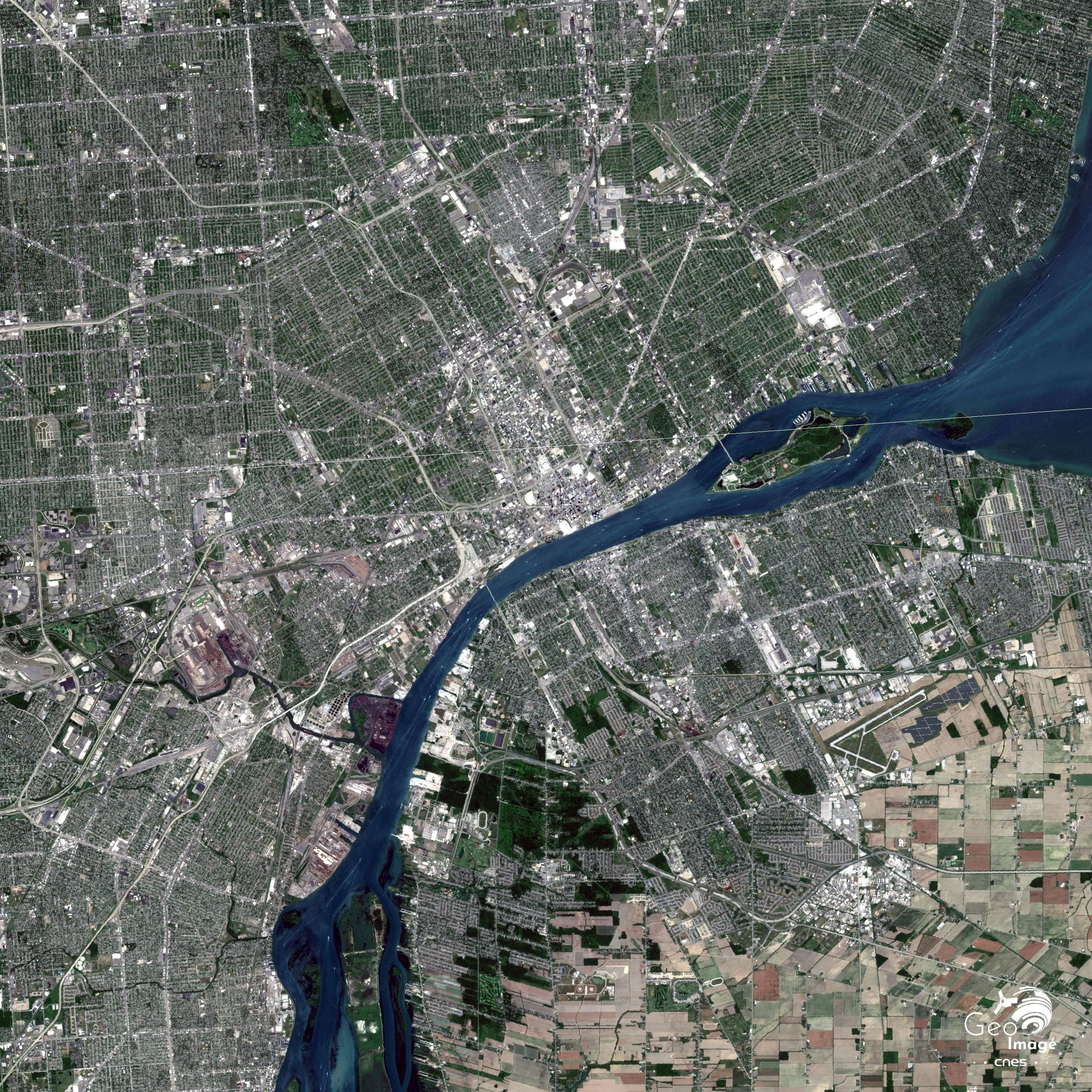 États-Unis / Canada. Détroit-Windsor : un doublet urbain dans la région transfrontalière des Grands Lacs