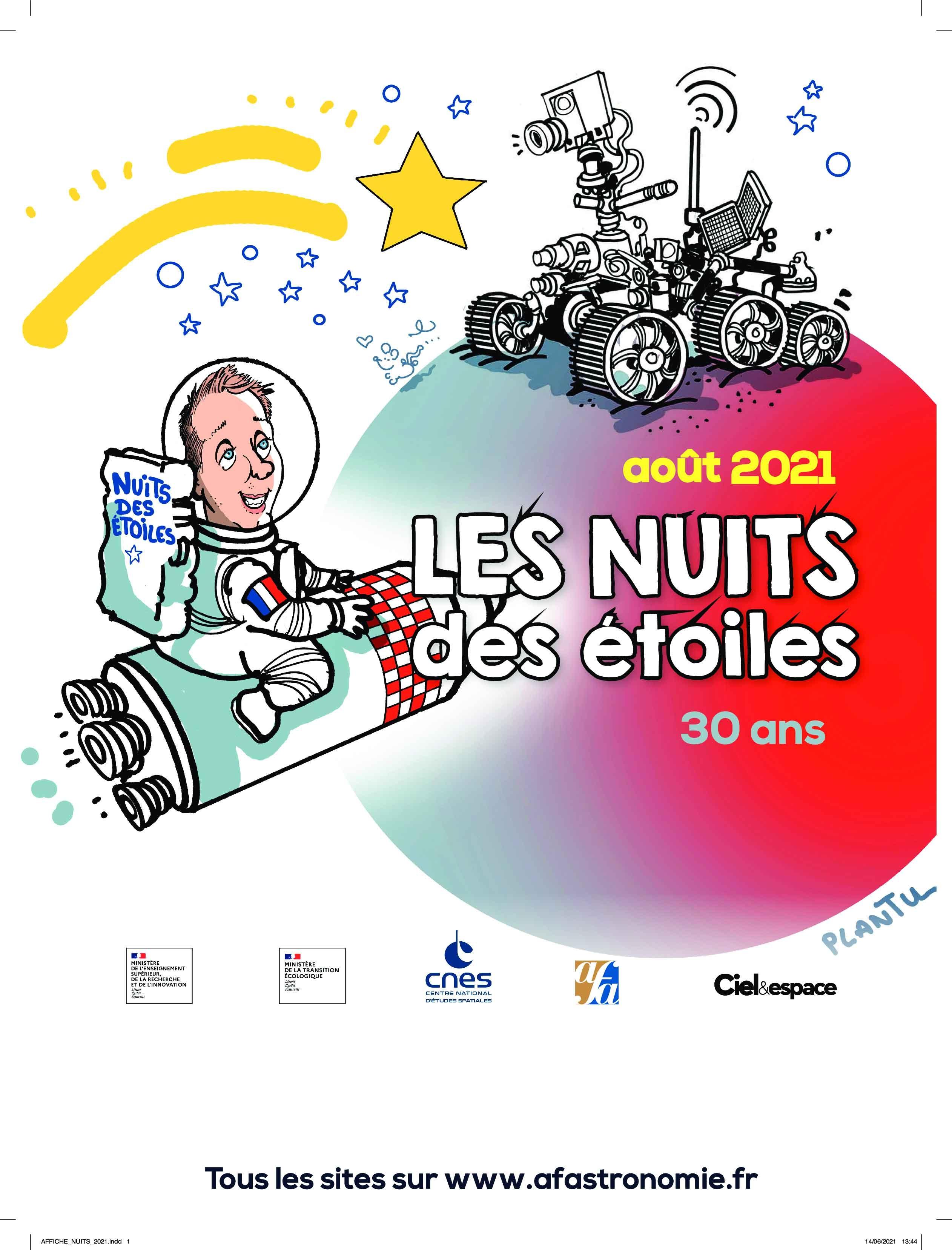 Les Nuits des Etoiles - du 06 au 08/08/21