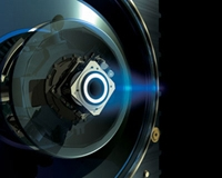 Vue d'artiste du propulseur à plasma - Crédits : AOES Medialab, ESA 2002