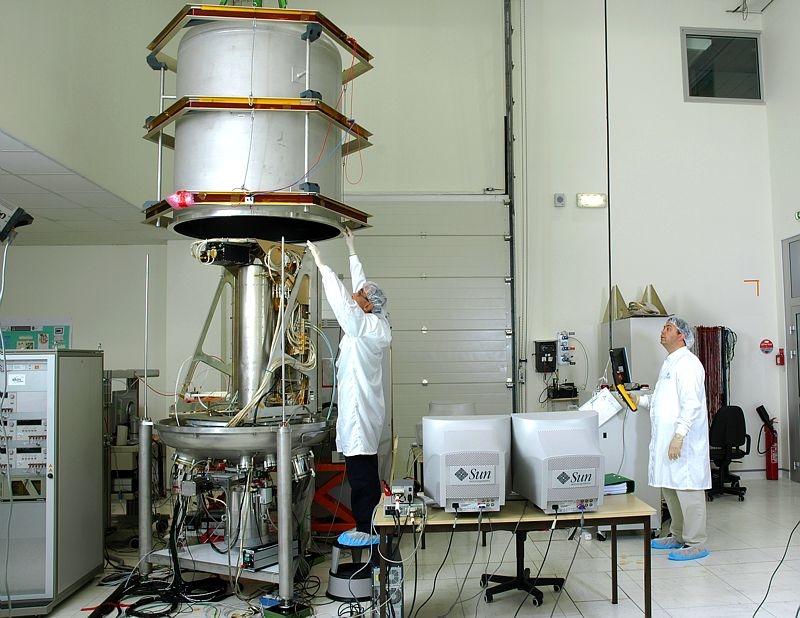 PHARAO instrument. Credits: CNES.