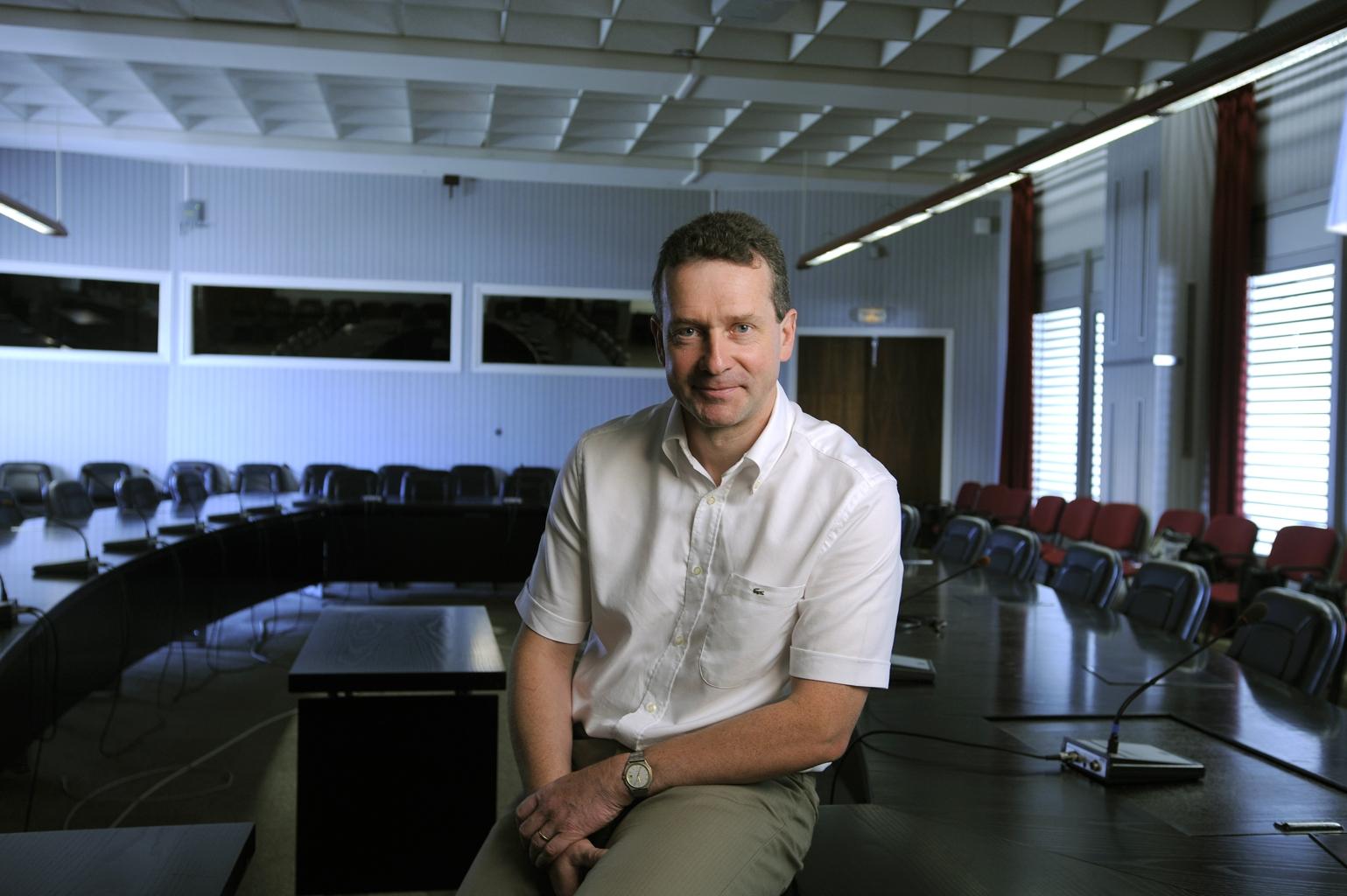 Philippe Roy, chef de projet HELIOS-2B au CNES. Crédits : CNES.