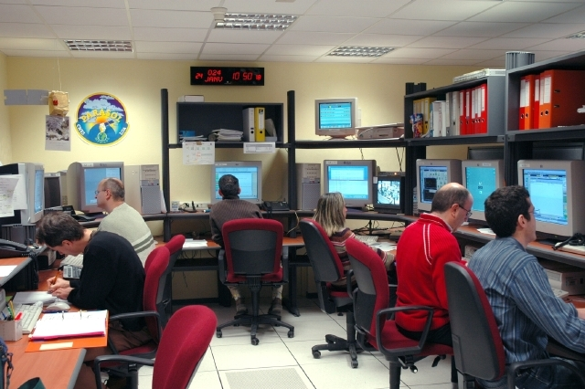 Parasol control centre at CNES in Toulouse. Credits: CNES/G. Philippe.
