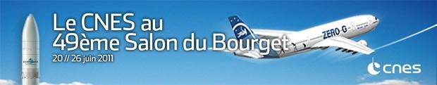 Le CNES au Salon du Bourget - 20 - 26 juin 2011