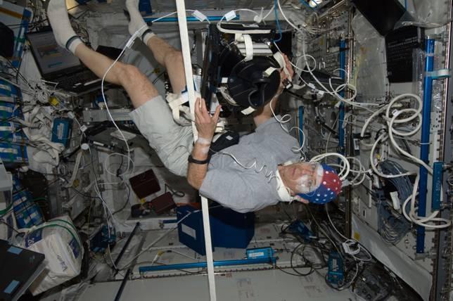 expérience à bord ISS