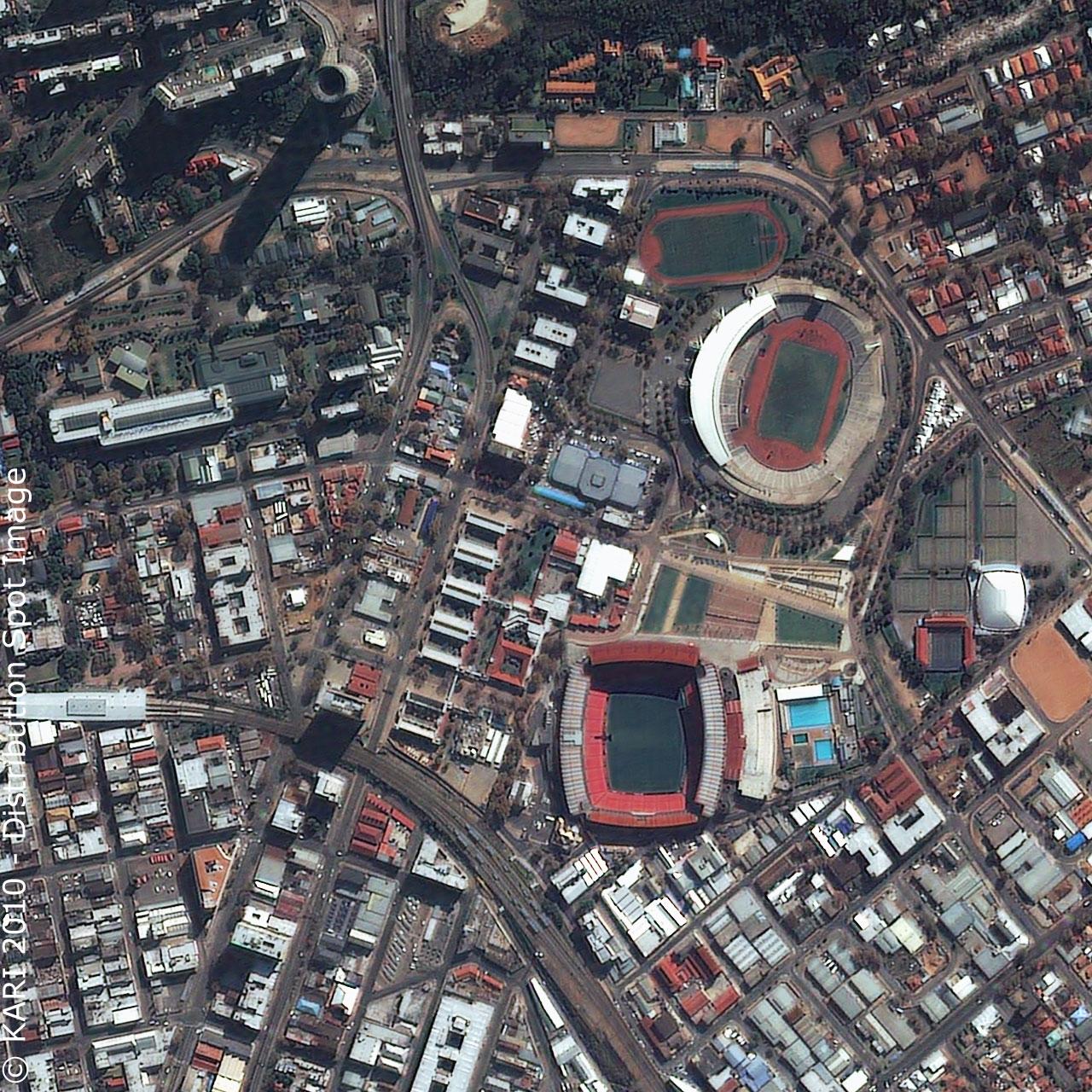 Ellis Park Stadium - Johannesburg