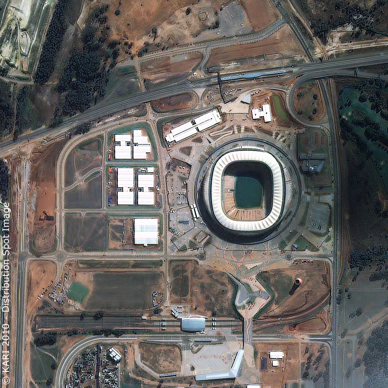 Soccer City Stadium - Johannesburg