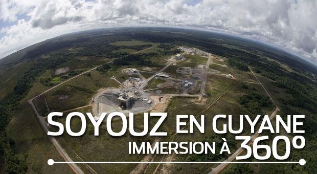 Visite de l'ensemble de lancement Soyouz à 360°