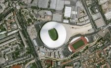 Le style anglais du stade Bollaert-Delelis de Lens