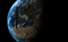 Rosettalive survol de la Terre