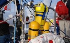 Chaque skipper du Vendée Globe est équipé de balises de localisation MAR-YI, développées par CLS