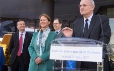 [PRESS]Ségolène Royal announces launch of MicroCarb mission at the Toulouse Space Centre