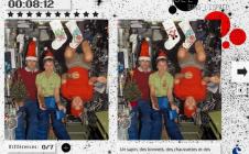 Jeu des différences : Noël dans l'ISS