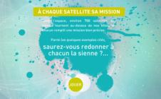 À chaque satellite sa mission