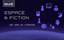 Quiz : espace et fiction