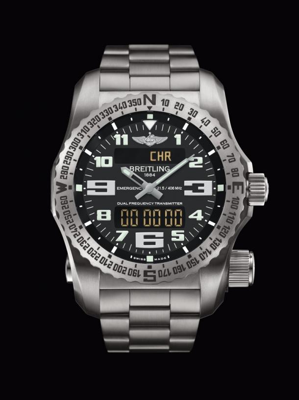 La montre Emergency II de Breitling