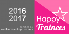 Logo Happy Trainees 2016 - 2017