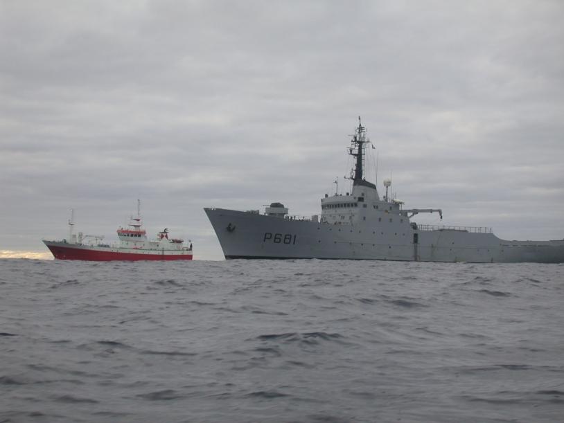 [#VG2016] Araisonnement d'un bateau de pêche illégal