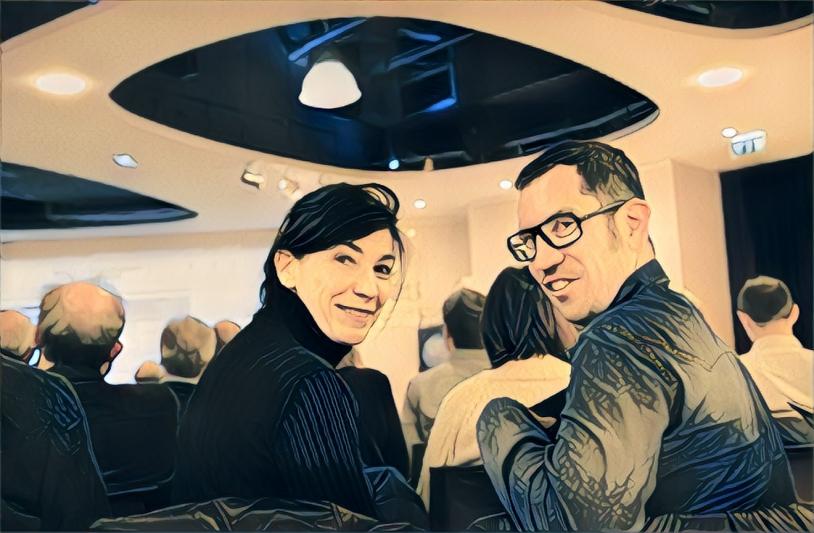 Mireille Paulin et Vincent Garcia, l'équipe de PEPS