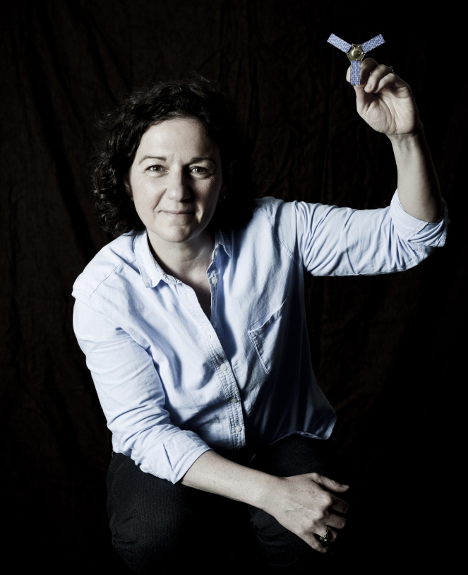 Nathalie Bertrand, infographiste IGN en poste au CNES