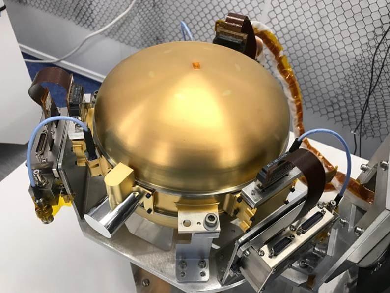 Sphère du sismomètre SEIS pour InSight
