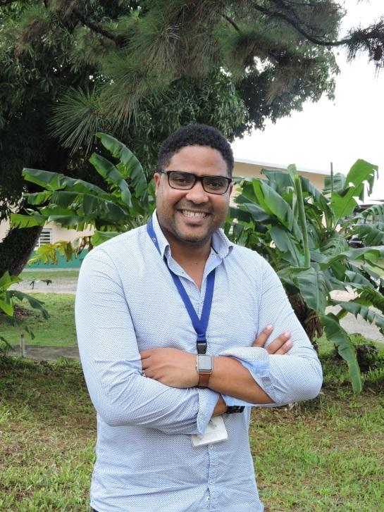 Claude Flamand, responsable de l'unité d'épidémiologie de l'Institut Pasteur de Guyane, à Cayenne. Cet épidémiologiste biostatisticien coordonne l'innovant projet Detect (Dengue transmission and emergence control using tele-epidemiology)
