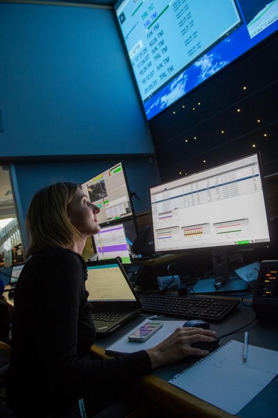 Répétition séquence de mise à poste du 1er satellite CSO