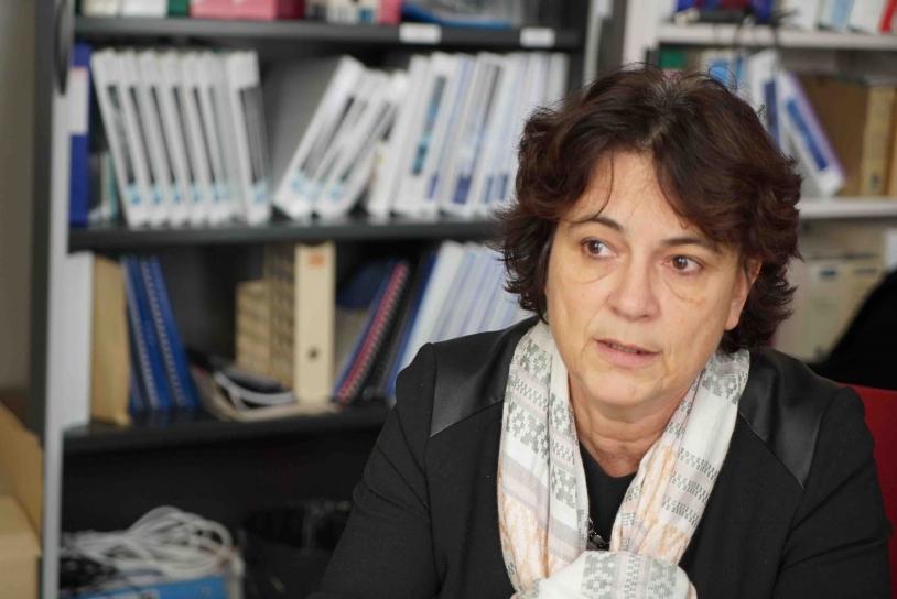 Valérie Foix, chef de service Systèmes Télécom.