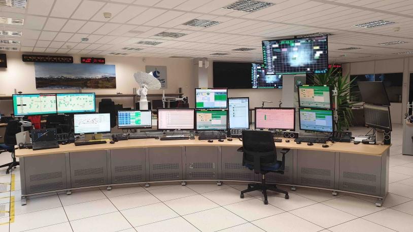 Le Centre opérationnel du Réseau multimission