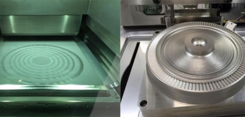 Turbopompe fabriquée par impression 3D