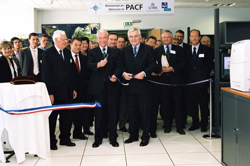 Opening of the PACF in Toulouse, 24 March (c) CNES/E.Grimault,2005
