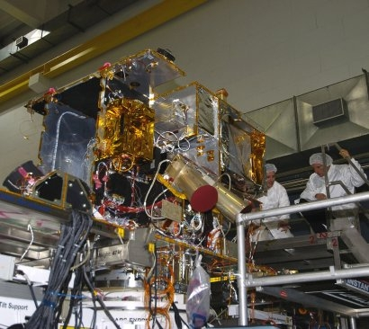 Tests effectués sur la sonde ; crédits Esa