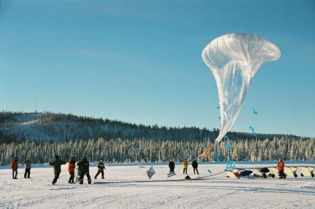 Test campaign in Kiruna (Sweden) ; credits CNES/Ph.Cocquerez