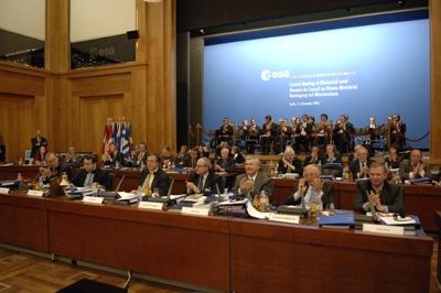 Chacun des 17 pays membres de l'Esa était représenté ; crédits Esa/S.Corvaja