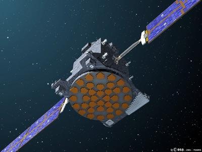 Satellite Giove-A. Crédits : ESA