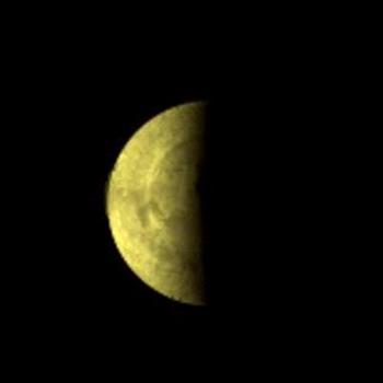 Vue de Vénus en fausses couleurs ; crédits : Esa/MPS Katlenburg-Lindau