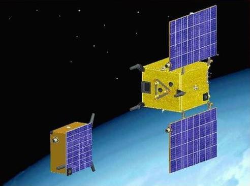 The 2 PRISMA satellites
