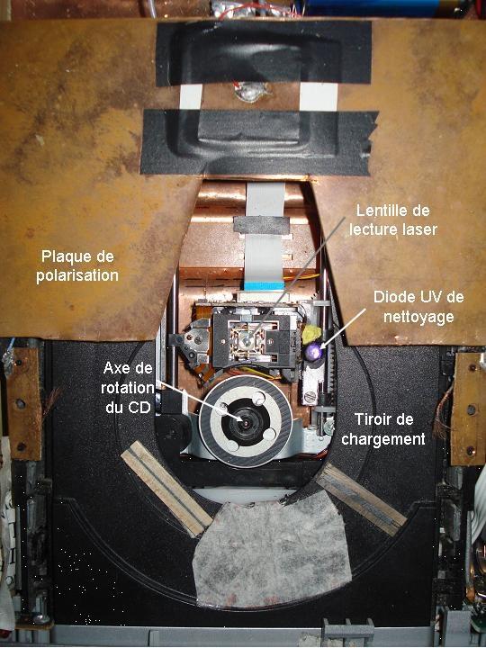 Le dispositif de Philippe Hébert. Crédits : CNES.