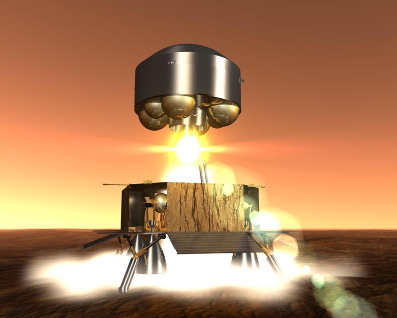 The Mars Sample Return mission could bring back samples from Mars within the 2020-2025 timeframe. Credits: ESA/Ill.