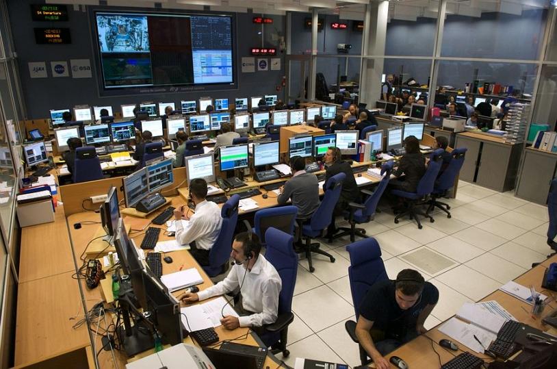 Centre de contrôle du CNES ATV-CC à Toulouse. Crédits : CNES/S. Girard.