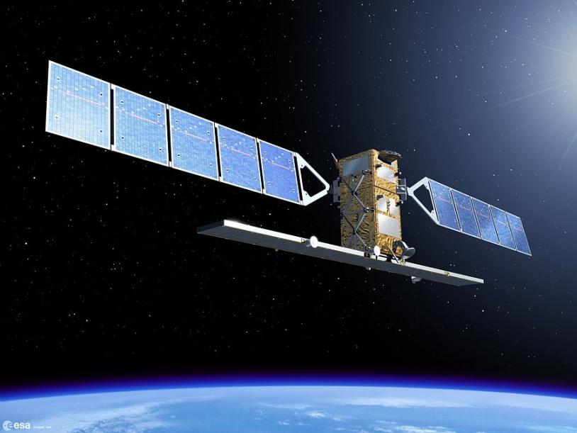 Le satellite européen ENVISAT est souvent sollicité. Crédits : ESA.