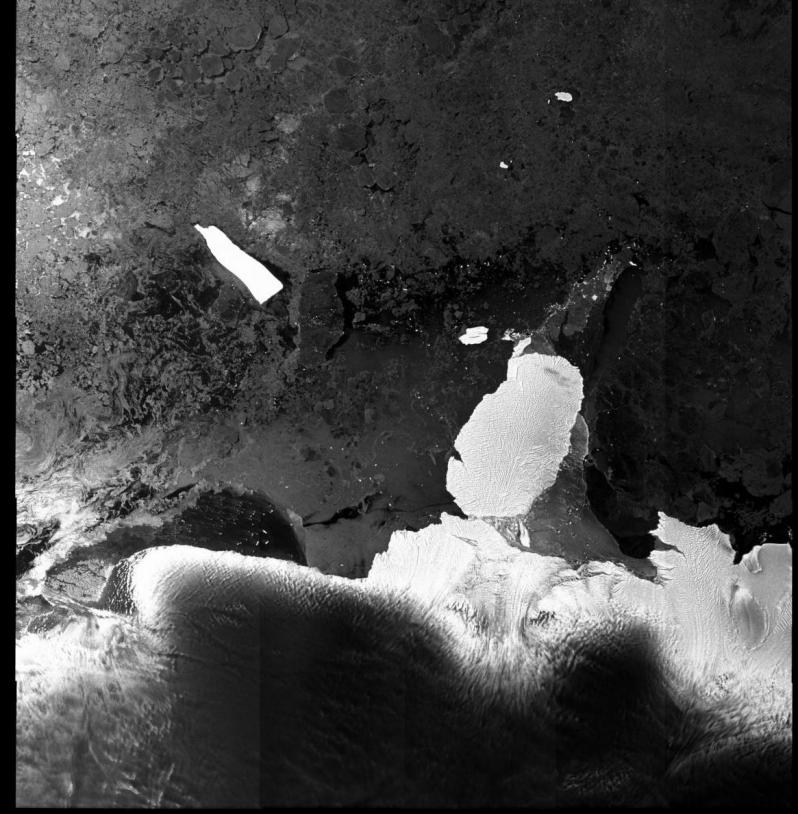Envisat satellite image. Credits: ESA.