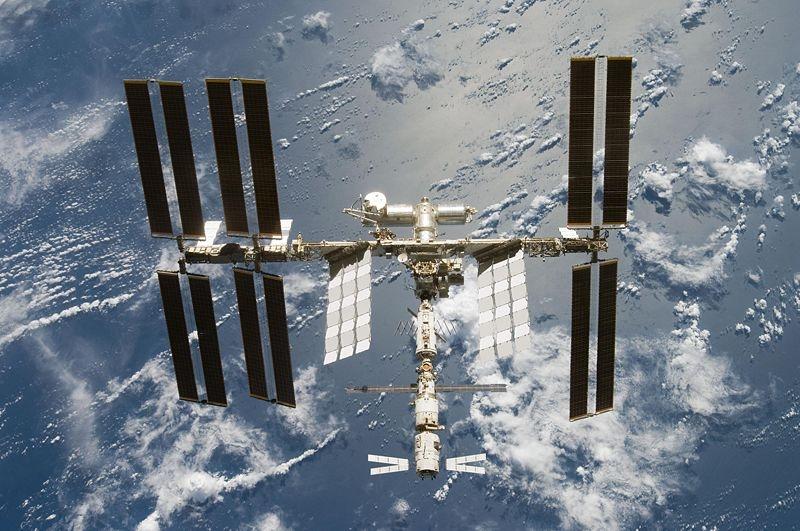 Amino va être exposée aux radiations solaires à l'extérieur de la Station spatiale internationale. Crédits : NASA.