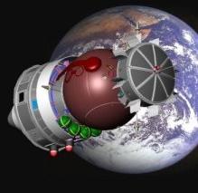 Capsule Foton de l'expérience UVolution. Crédits : CNES.